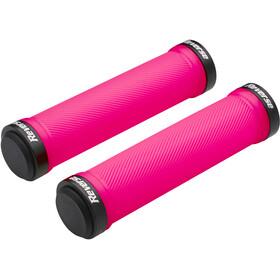 Reverse Chwyty Lock-on Chwyty rowerowe - gripy, różowy